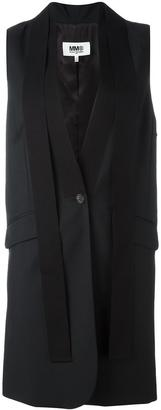 Mm6 Maison Margiela elongated waistcoat $570 thestylecure.com