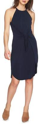 1 STATE 1.State Solid Tie Front Dress