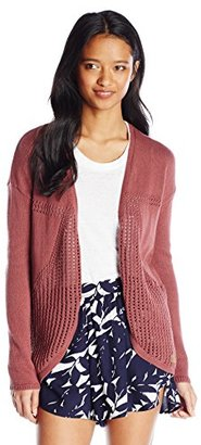 Element Junior's Grace Cardigan Sweater $55 thestylecure.com