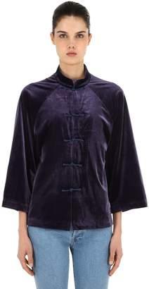 Silk Velvet Jacket