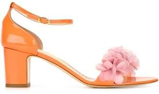 Rupert Sanderson embellished strap sandals