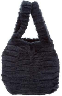 Pologeorgis Fur Mini Bag