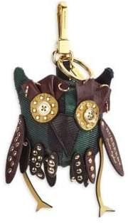 Burberry Owl Cotton Bag Charm
