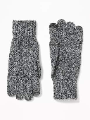 Old Navy Text-Friendly Sweater-Knit Gloves for Men