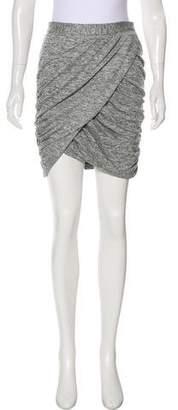 Elizabeth and James Ruched Knee-Length Skirt