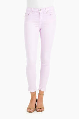 7 For All Mankind Ankle Skinny Jean with Released Hem