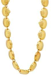 TOHUM DESIGN Women's Beach Shell Necklace - Gold