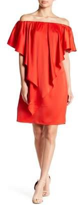 Gracia Off-the-Shoulder Draped Dress