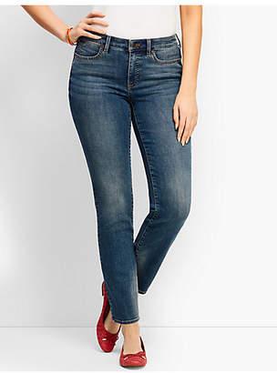 Talbots Slim Ankle Jean - Curvy Fit/Baxter Wash