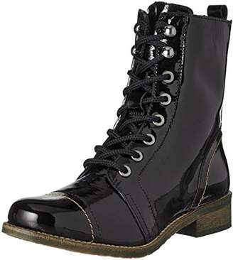 Pinto Di Blu Women's Kylie Combat Boots, (Black 01)