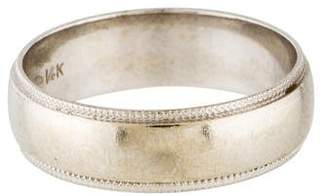 Ring 14K Milgrain Wedding Band