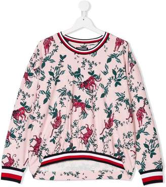 Tommy Hilfiger Junior TEEN printed sweatshirt