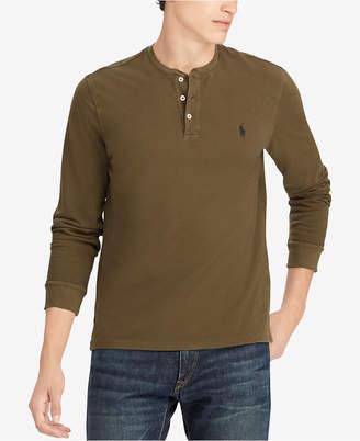 Polo Ralph Lauren Men Featherweight Cotton Henley Shirt