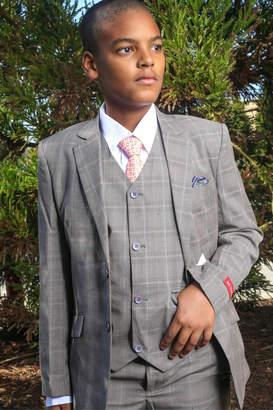 Bijan Houndstooth 5pc Suit