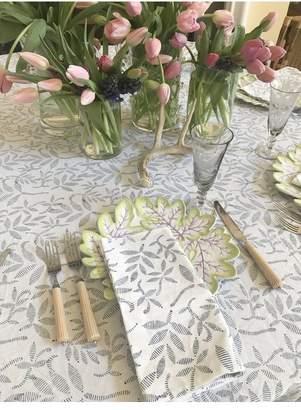 India Amory New - Spring Hyacinth Dinner Napkins - Set Of 4