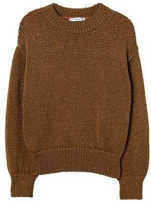 MANGO Bicolor cotton sweater