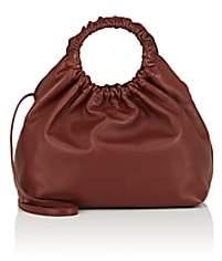 The Row Women's Double-Circle Leather Medium Bag - Lt. Burgandy