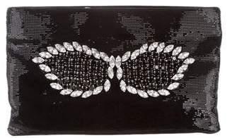 Prada Sequin Crystal Clutch