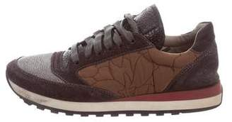 Brunello Cucinelli Monili-Accented Low-Top Sneakers