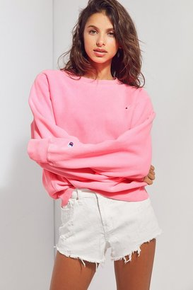 Champion + UO Pigment Dye Pullover Sweatshirt $59 thestylecure.com