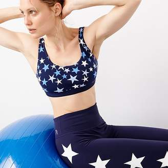 J.Crew New Balance® for performance scoopneck sports bra in stars
