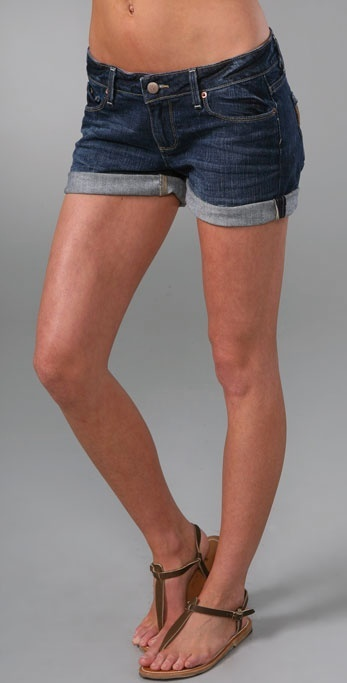 Paige Denim Jimmy Jimmy 2 Jean Shorts