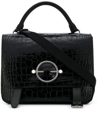 J.W.Anderson embossed square tote bag