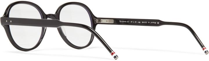 Thom Browne Round-Frame Acetate Optical Glasses