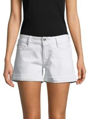 Hudson Croxley Mid-Thigh Denim Shorts