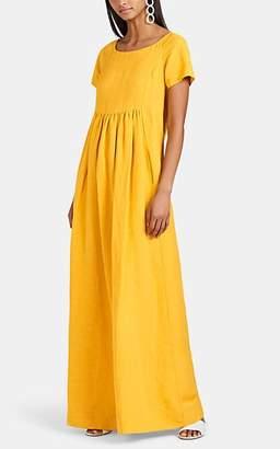 Co Women's Bib-Front Maxi Dress - Yellow