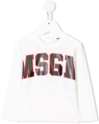 MSGM contrast logo printed top