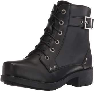"""Ride Tec Women's 8647 7"""" Biker Boot Work M US"""