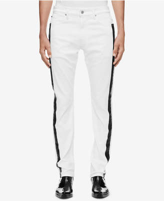 Calvin Klein Jeans Men Slim-Fit Side Stripe Jeans Ckj 026