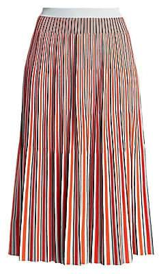 Proenza Schouler Women's Jacquard Knit Striped Skirt
