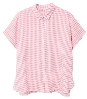 MANGO Short sleeve shirt