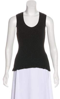 Sonia Rykiel Wool Sleeveless Top