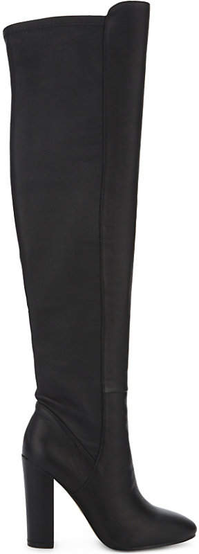 Aldo Antella leather over-the-knee boots