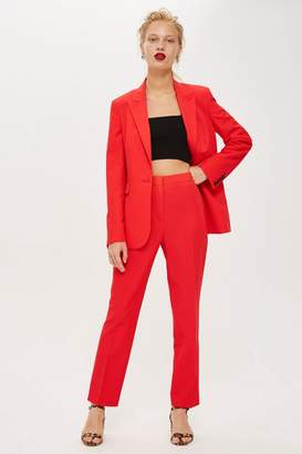 Topshop High Waisted Suit Trousers
