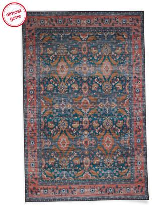 Made In Turkey 5x7 Printed Flat Weave Rug
