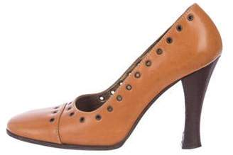 1995f172414 Dolce   Gabbana Brown Pumps - ShopStyle