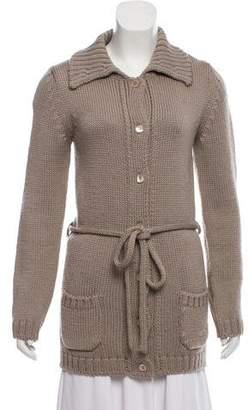 Joseph Knit Long Sleeve Cardigan
