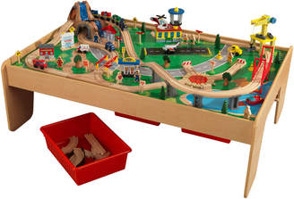 Kid Kraft Waterfall Mountain Train Table and 120-pieces Set