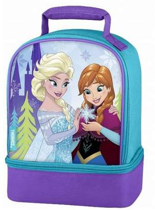 Thermos Disney Frozen Elsa and Anna Dual Compartment Insulated Lunch Box - Kids Lunchbox