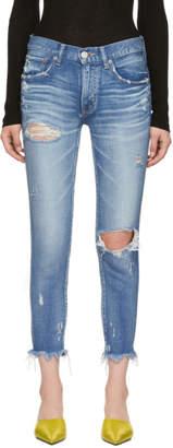Moussy Vintage Blue Comfort Ridgewood Skinny Jeans
