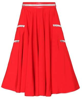 Calvin Klein Cotton tent circle skirt