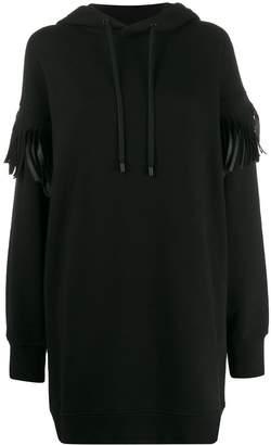 Maison Margiela fringed hoodie