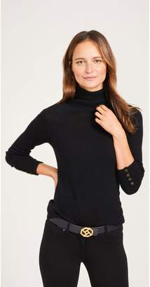 J.Mclaughlin Cabot Cashmere Turtleneck