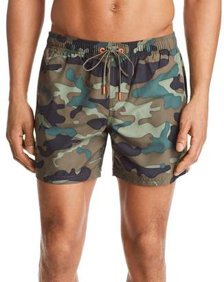 Sundek Camouflage Swim Trunks