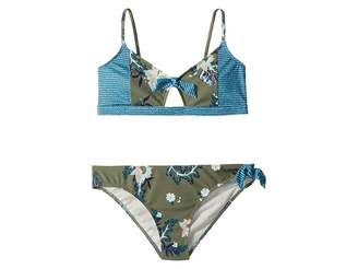 Roxy Kids Surf the Desert Athletic Swim Set (Big Kids)