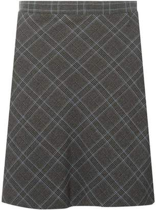 Dorothy Perkins Womens Grey Checked Mini Skirt